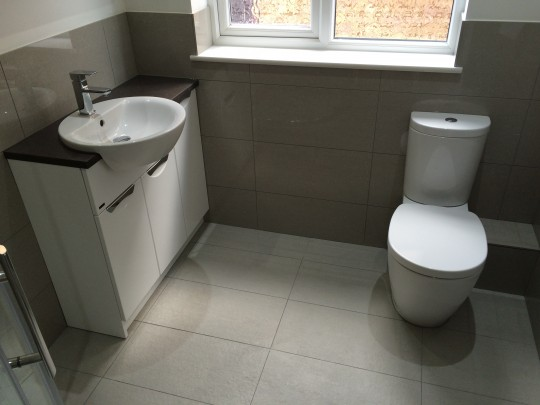 Small Bathroom Refit Great Barford