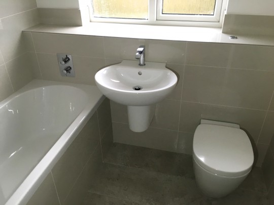 Small Bathroom Project Bedford
