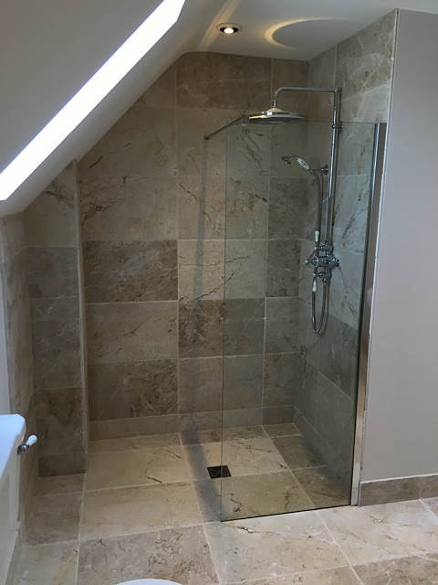 Bathroom/wetroom project 03/2016